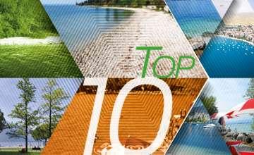 TOP 10 Spiagge del lago di Garda orientale e trentino