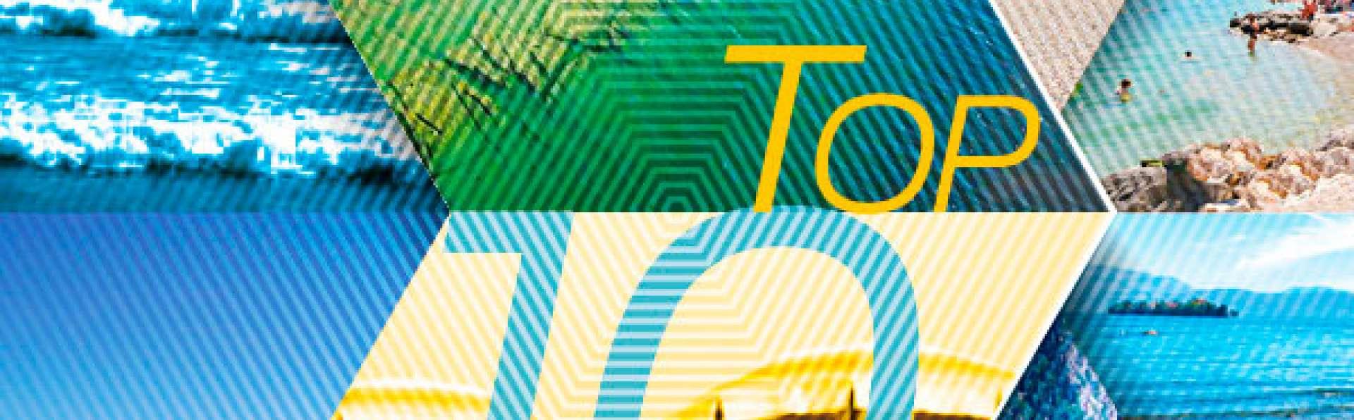 TOP 10 Beaches on the Western Shore of Lake Garda